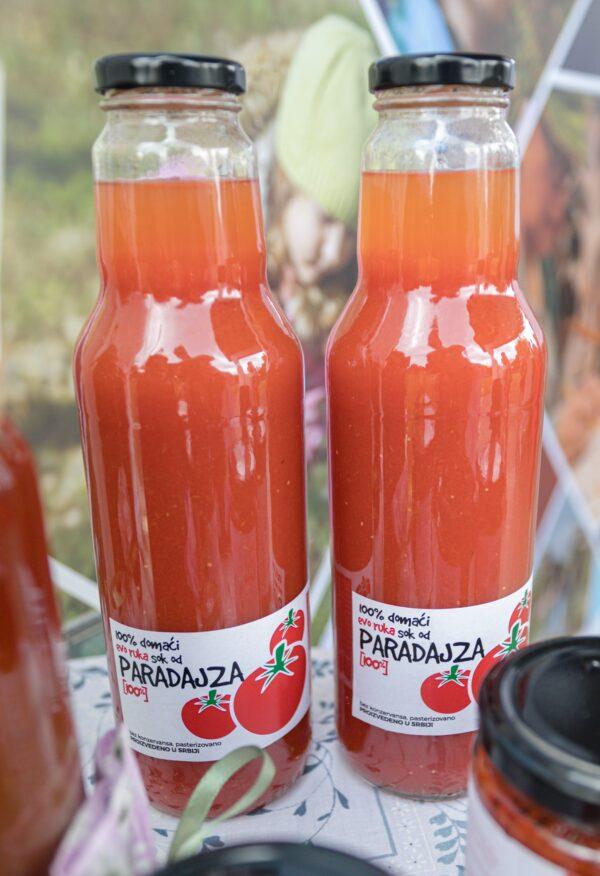 Pokloni za poslovne partnere i korporativni pokloni - sok od paradajza
